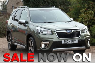 Subaru Forester 2.0 e-Boxer XE Premium Lineartronic 4WD (s/s) 5dr Estate Petrol / Electric Hybrid Jasper GreenSubaru Forester 2.0 e-Boxer XE Premium Lineartronic 4WD (s/s) 5dr Estate Petrol / Electric Hybrid Jasper Green at Richtoy Scunthorpe