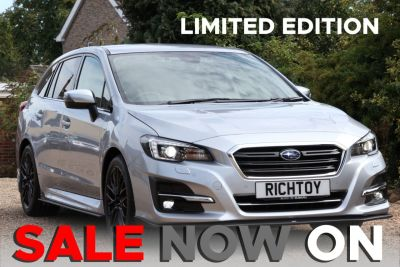 Subaru Levorg 2.0i GT (STI EDITION) Sport Tourer Lineartronic 4WD (s/s) Estate Petrol Ice Silver MetallicSubaru Levorg 2.0i GT (STI EDITION) Sport Tourer Lineartronic 4WD (s/s) Estate Petrol Ice Silver Metallic at Richtoy Scunthorpe