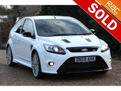 Ford Focus 2.5 RS 3dr - *DEPOSIT TAKEN* Hatchback Petrol WhiteFord Focus 2.5 RS 3dr - *DEPOSIT TAKEN* Hatchback Petrol White at Richtoy Scunthorpe