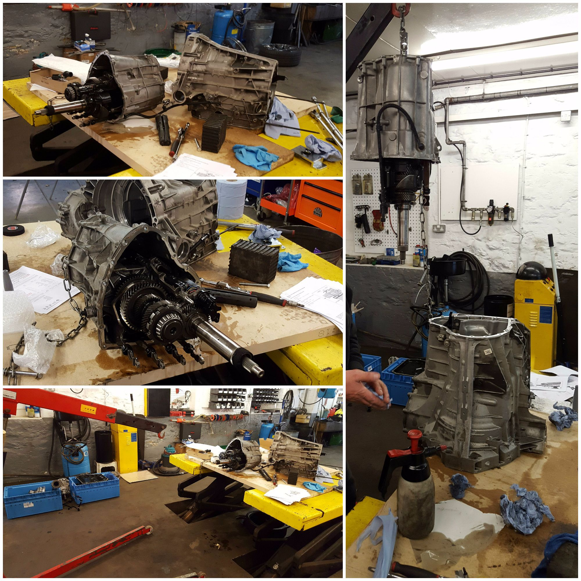 AUDI RS5 S TRONIC GEARBOX MALFUNCTION REPAIRS